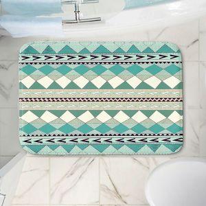 Decorative Bathroom Mats | Nika Martinez - Mint Native Forest