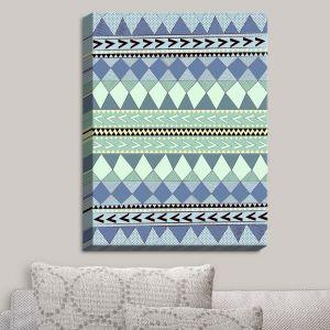 Decorative Canvas Wall Art   Nika Martinez - Purple Native Forest