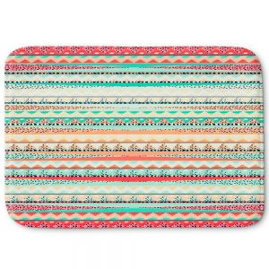 Decorative Bath Mat Large from DiaNoche Designs by Nika Martinez - Summer Boho
