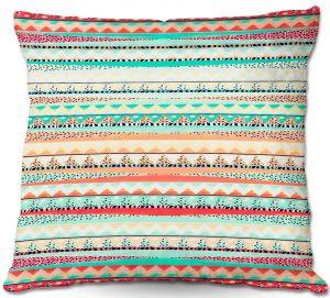 Decorative Outdoor Patio Pillow Cushion | Nika Martinez - Summer Boho