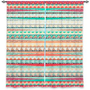 Unique Window Curtain Unlined 40w x 52h from DiaNoche Designs by Nika Martinez - Summer Boho
