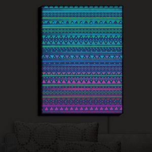 Nightlight Sconce Canvas Light | Nika Martinez - Summer Nights