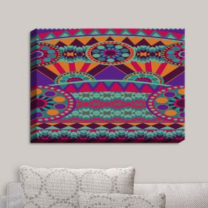 Decorative Canvas Wall Art | Nika Martinez - Tribal Ethnic