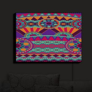 Nightlight Sconce Canvas Light | Nika Martinez's Tribal Ethnic