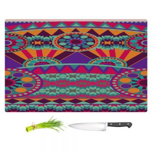 Artistic Kitchen Bar Cutting Boards | Nika Martinez - Tribal Ethnic
