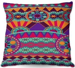 Throw Pillows Decorative Artistic | Nika Martinez's Tribal Ethnic