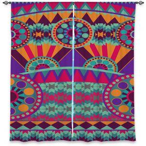 Decorative Window Treatments | Nika Martinez Tribal Ethnic