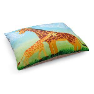 Decorative Dog Pet Beds | nJoy Art - Giraffes