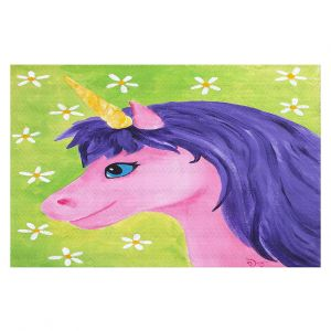 Decorative Floor Coverings | nJoy Art - Pink Unicorn