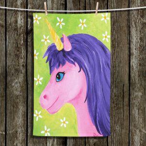 Unique Bathroom Towels   nJoy Art - Pink Unicorn
