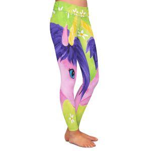 Casual Comfortable Leggings | nJoy Art - Pink Unicorn