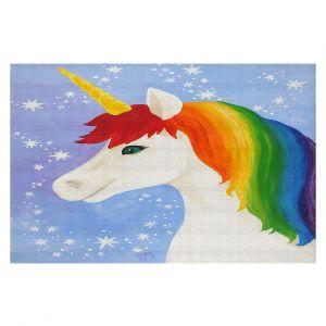 Decorative Floor Coverings | nJoy Art - Rainbow Unicorn l