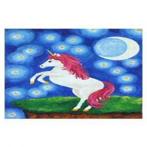 Decorative Floor Coverings | nJoy Art - Unicorn Starry Night