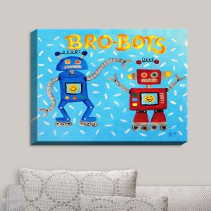 Decorative Canvas Wall Art | nJoy Art - Brobots