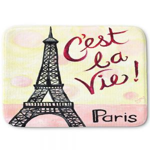 Decorative Bathroom Mats | nJoy Art - Cest La Vie