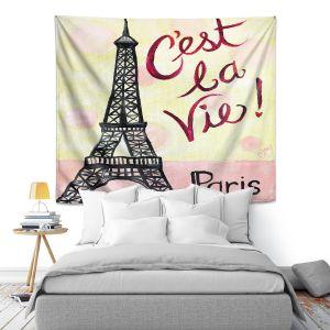 Artistic Wall Tapestry   nJoy Art - Cest La Vie