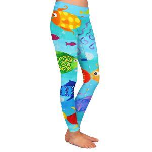 Casual Comfortable Leggings | nJoy Art Happy Fish I