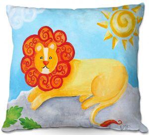 Decorative Outdoor Patio Pillow Cushion | nJoy Art - Lion