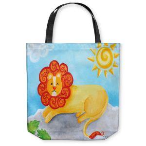 Unique Shoulder Bag Tote Bags   nJoy Art - Lion