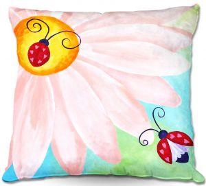 Decorative Outdoor Patio Pillow Cushion | nJoy Art - Love Bugs