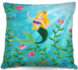 Throw Pillows Decorative Artistic   nJoy Art Mermaid