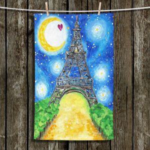 Unique Bathroom Towels   nJoy Art - Paris At Night