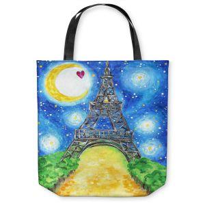 Unique Shoulder Bag Tote Bags | nJoy Art - Paris At Night