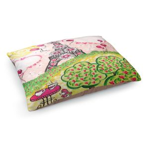 Decorative Dog Pet Beds | nJoy Art - Paris In Pink