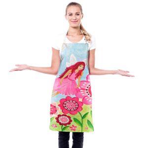 Artistic Bakers Aprons | nJoy Art - Pink Flower Fairy | Flowers Make Believe Fairies Child Like