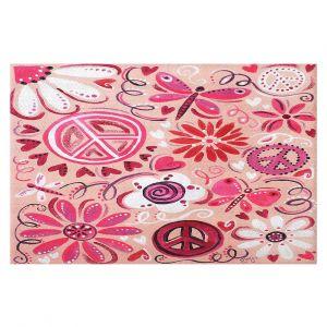 Decorative Floor Coverings | nJoy Art - Pink Peace
