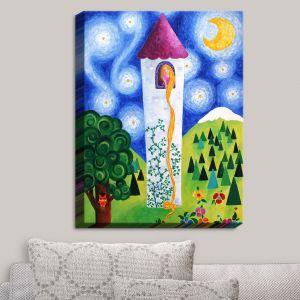 Decorative Canvas Wall Art | nJoy Art - Rapunzels Tower