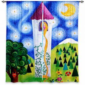 Decorative Window Treatments | nJoy Art Rapunzels Tower
