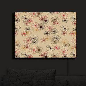 Nightlight Sconce Canvas Light | Olive Smith - Broken I | Florals Patterns