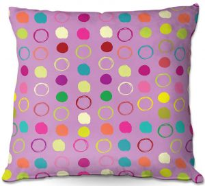Throw Pillows Decorative Artistic | Olive Smith - Circle Blunder l
