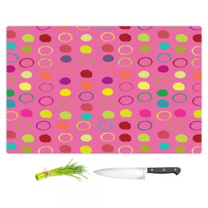 Artistic Kitchen Bar Cutting Boards | Olive Smith - Circle Blunder lll