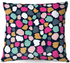 Decorative Outdoor Patio Pillow Cushion | Olive Smith - Dash V