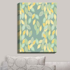 Decorative Canvas Wall Art   Olive Smith - Feuiles I   Patterns