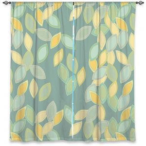 Decorative Window Treatments | Olive Smith - Feuiles l