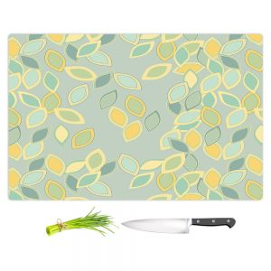 Artistic Kitchen Bar Cutting Boards | Olive Smith - Feuiles ll