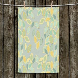 Unique Hanging Tea Towels | Olive Smith - Feuiles ll | Patterns