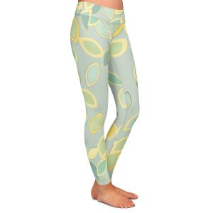 Casual Comfortable Leggings | Olive Smith - Feuiles ll