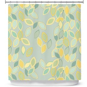 Premium Shower Curtains | Olive Smith - Feuiles ll