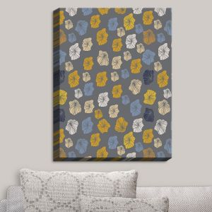 Decorative Canvas Wall Art | Olive Smith - Gerbera Elements II | Florals Patterns