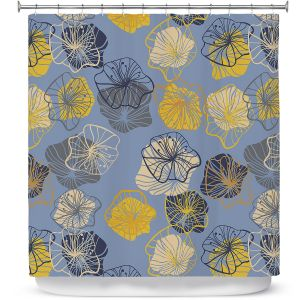 Premium Shower Curtains | Olive Smith - Gerbera ll