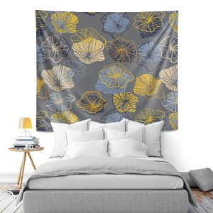 Artistic Wall Tapestry   Olive Smith - Gerbera lll