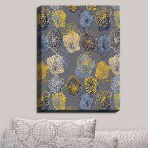 Decorative Canvas Wall Art | Olive Smith - Gerbera III | Florals Patterns