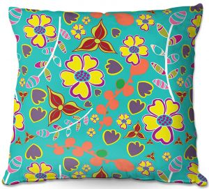 Throw Pillows Decorative Artistic | Olive Smith - Marguerite l