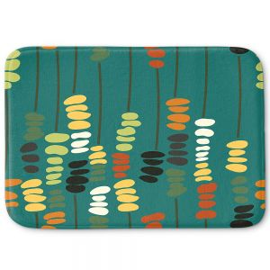 Decorative Bathroom Mats | Olive Smith - Sticks and Stones 1 | Rocks Nature Patterns