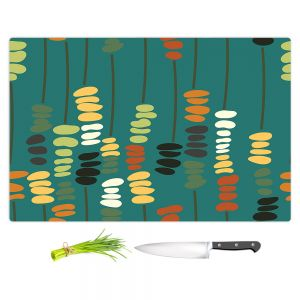 Artistic Kitchen Bar Cutting Boards | Olive Smith - Sticks and Stones 1 | Rocks Nature Patterns