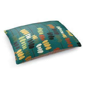 Decorative Dog Pet Beds | Olive Smith - Sticks and Stones 1 | Rocks Nature Patterns